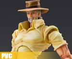 PV1634  Super Figure Action Joseph Joestar & Iggy (PVC)