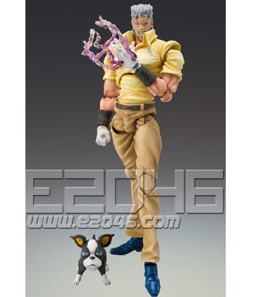Super Figure Action Joseph Joestar & Iggy (PVC)