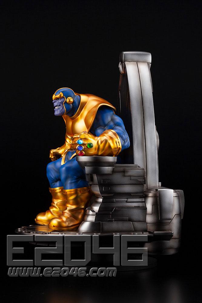 Thanos on Space Throne (PVC)