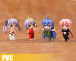PV1588  Nendoroid Petite Lucky Star x Street Fighter Set(PVC)
