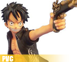 PV1969 1/7 Monky D Luffy The Three Musketeers Ver. (PVC)