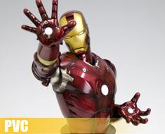 PV0341  Iron Man Bust (PVC)