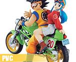 PV6187  Son Goku & Chichi (PVC)