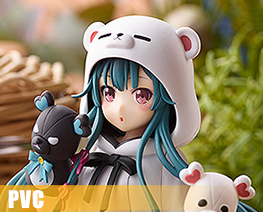 PV11629  Yuna White Bear Version (PVC)
