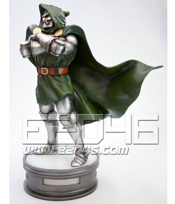 Fine Art Statue Captain Dr.Doom (PVC)