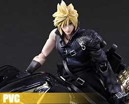 PV8016  Cloud Strife & Fenrir (PVC)