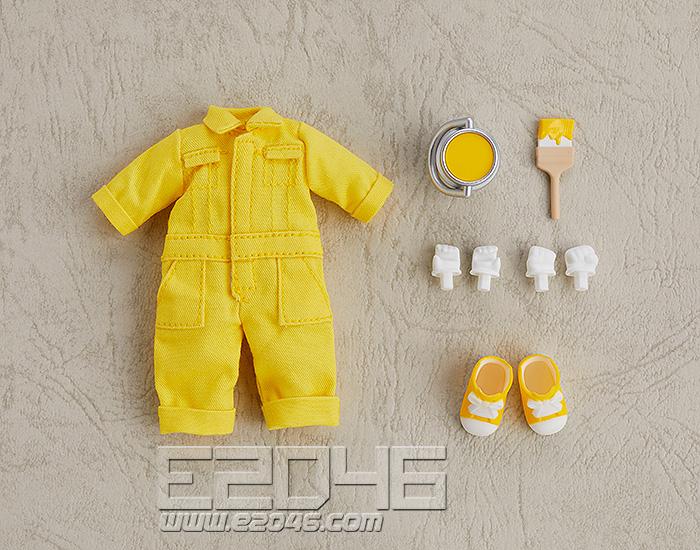 Nendoroid Doll Clothes Set Colorful Jumpsuit Yellow (PVC)