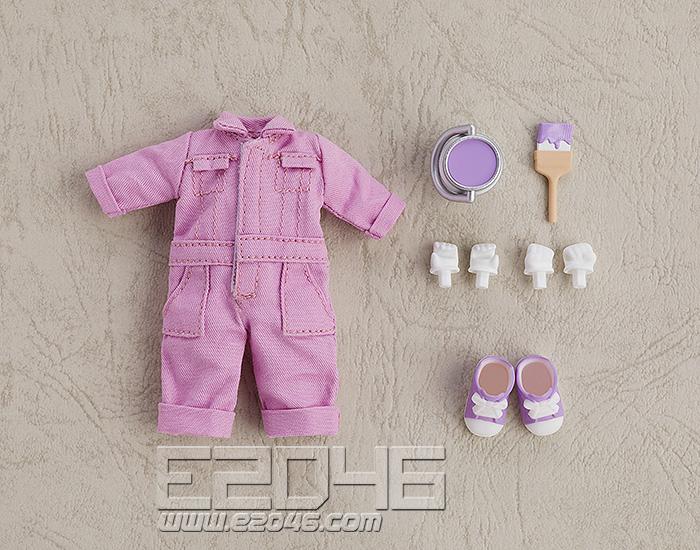 Nendoroid Doll Clothes Set Colorful Jumpsuit Purple (PVC)
