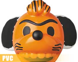 PV8687  Snoopy Orange Mask (PVC)