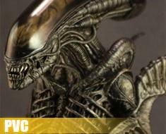 PV0331  Alien Bust (PVC)