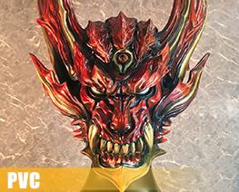 PV10044  Dark Knight Head Model Guren Version (PVC)