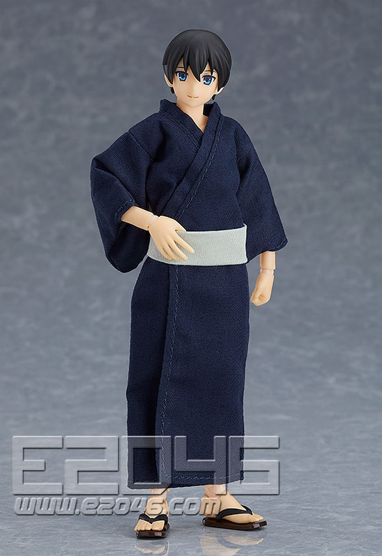 Figma Male Body with Yukata Outfit (PVC)