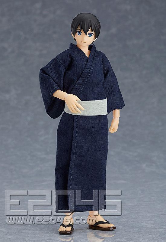 Figma Male Body with Yukata Outfit (PVC)