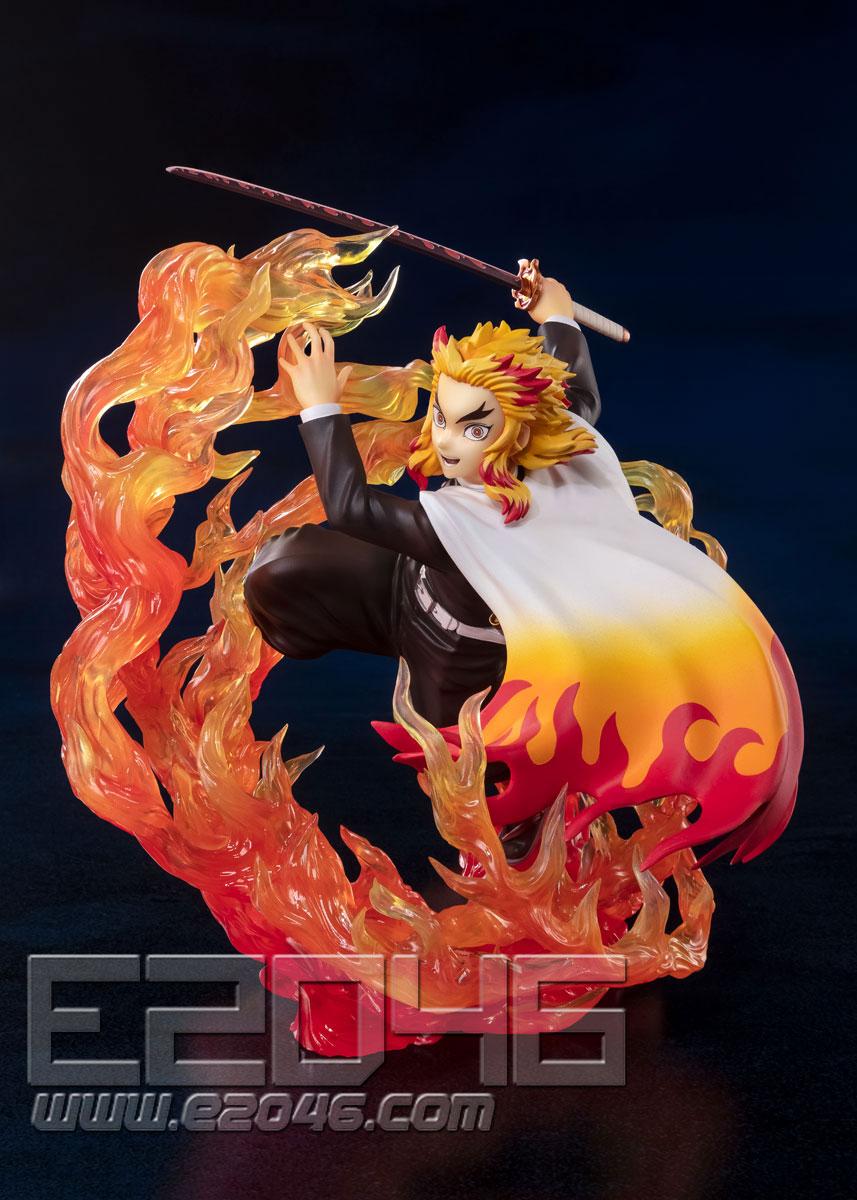 Rengoku Kyojuro Flame Breathing (PVC)