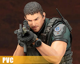 PV7661 1/6 Chris Redfield (PVC)