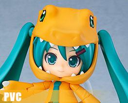PV11136  Nendoroid Hatsune Miku Kigurumi Agumon Version (PVC)