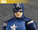 PV4671  Figma Captain America (PVC)