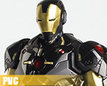 PV6308  IRON MAN Black X Gold Version (PVC)