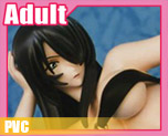 PV1686 1/6 Kanu Unchou Swim Wear4 Black Swim Wear Ver. (PVC)