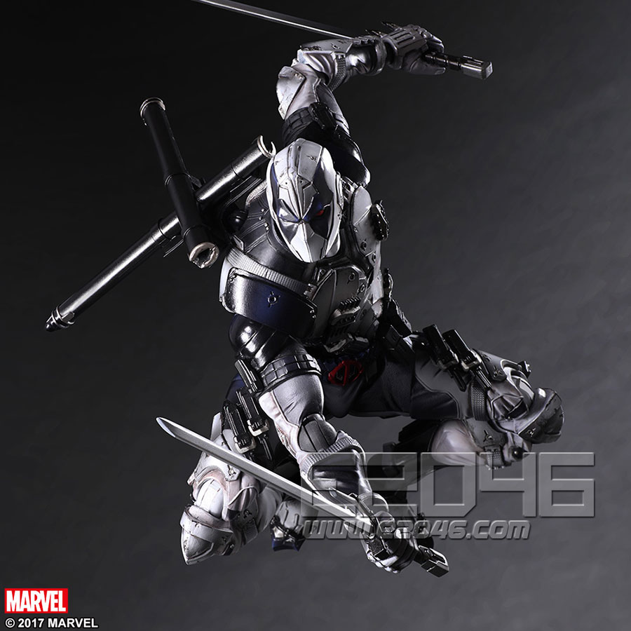 Deadpool X-Force Version (PVC)