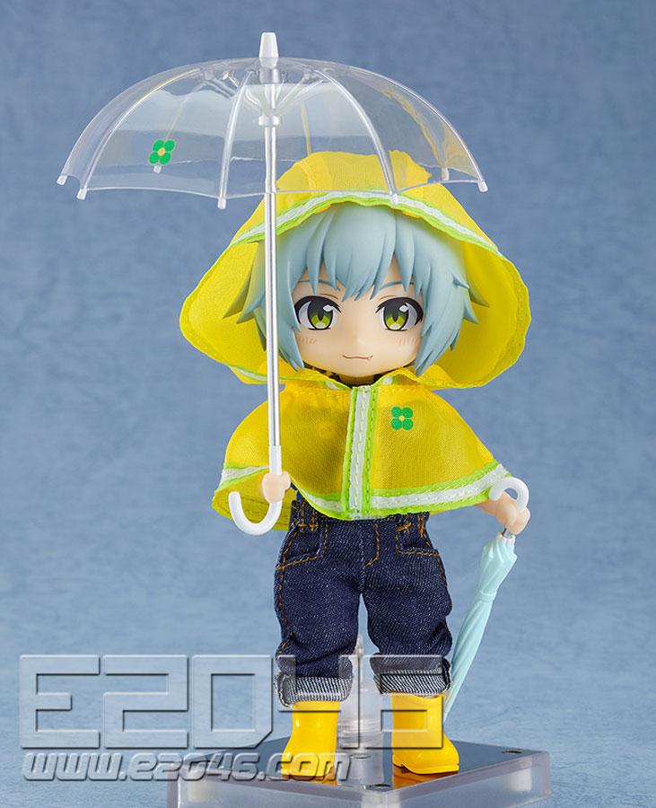 Nendoroid Doll Outfit Set Rain Poncho Yellow Version (PVC)