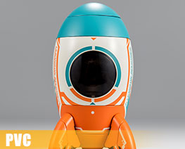 PV12390  Rocket Mech (PVC)