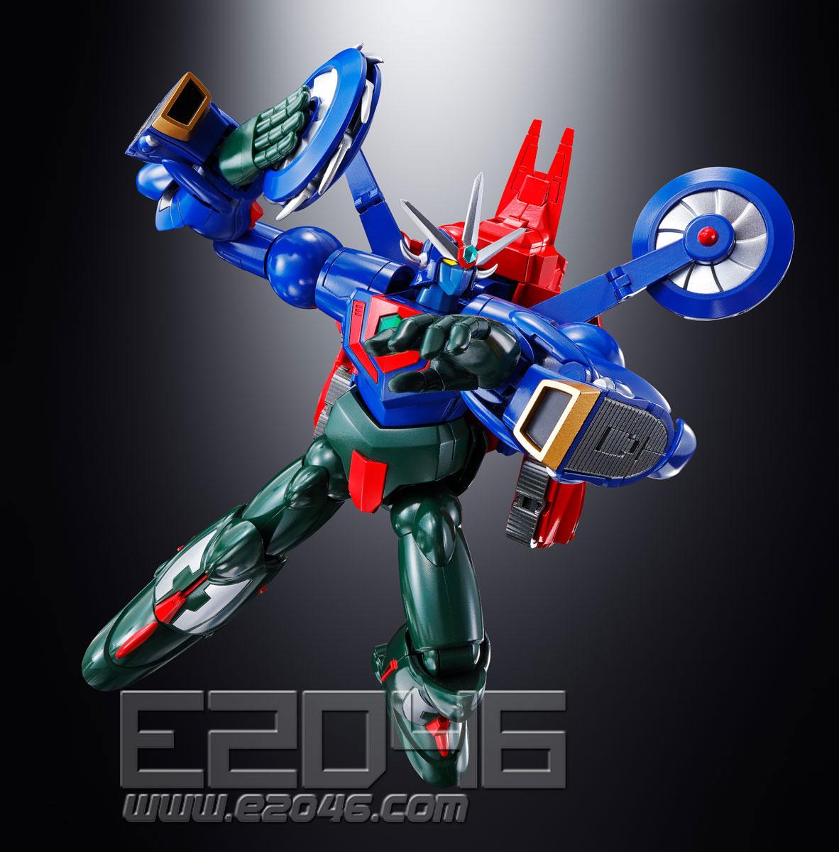 GX-96 Getter Robo Go (PVC)