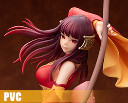 PV12552 1/7 Long Kui The Crimson Guardian Princess Version (PVC)