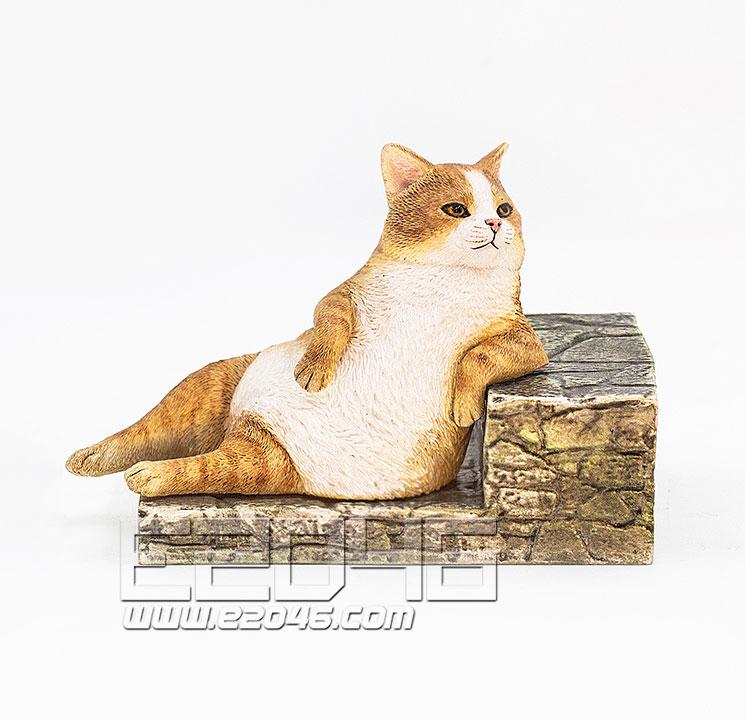 The Relaxing Cat Ginger Cat (PVC)