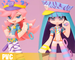 PV2474  Panty & Stocking Galaxxxy Ver.(PVC)