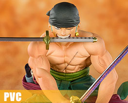 PV8875  Pirate Hunter Zoro (PVC)