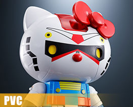 PV10228  Chogokin Gundam Hello Kitty (PVC)