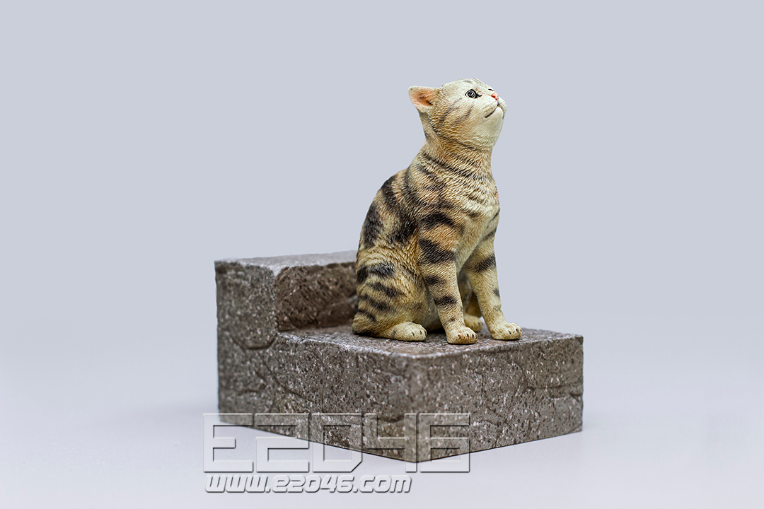 The Sad Cat Brown Tabby (PVC)