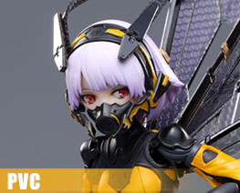 PV12117 1/12 BEE-03W Wasp Girl (PVC)
