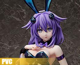 PV7805 1/4 Purple Heart Bunny Ver (PVC)