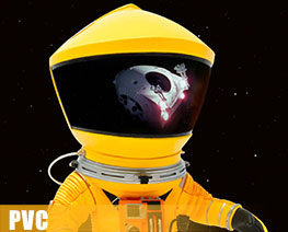 PV8890  Astronaut Yellow Space Suit Version (PVC)