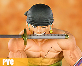 PV9910  Pirate Hunter Zoro (PVC)