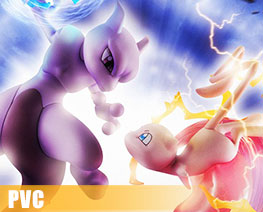 PV8132  Mew and Mewtwo (PVC)