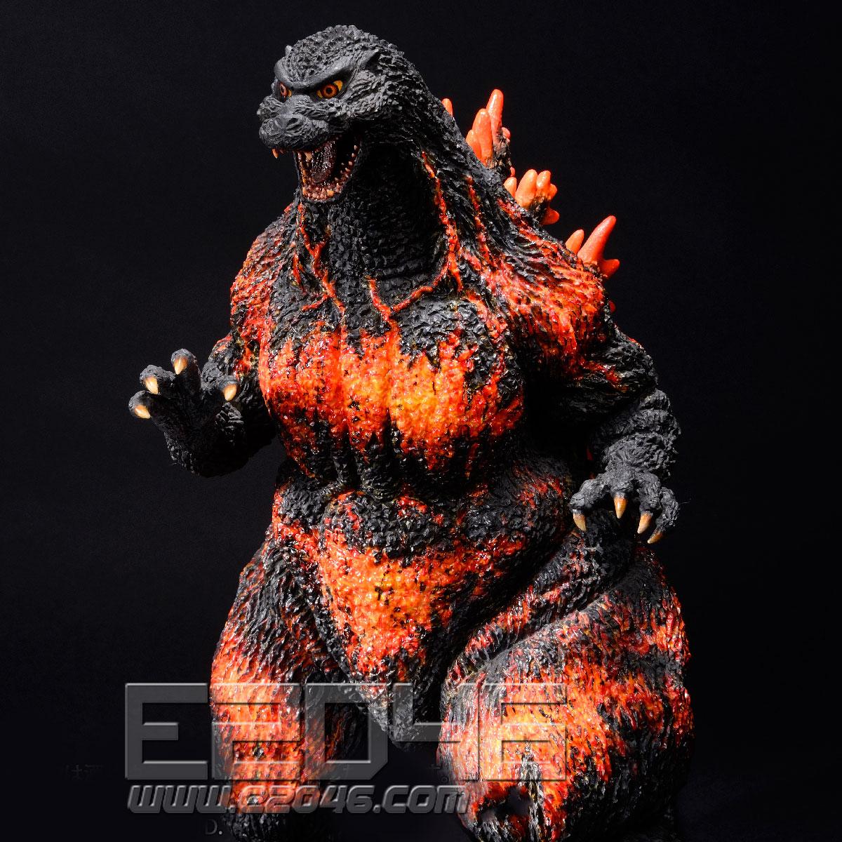 Godzilla 1995 Landing in Hong Kong Version(PVC)