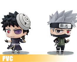 PV8979  Hatake Kakashi & Uchiha Obito Shinobi World War Version (PVC)