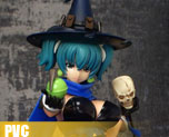 PV4752 1/7 Witch of the poison apple Deep Purpl Version (PVC)