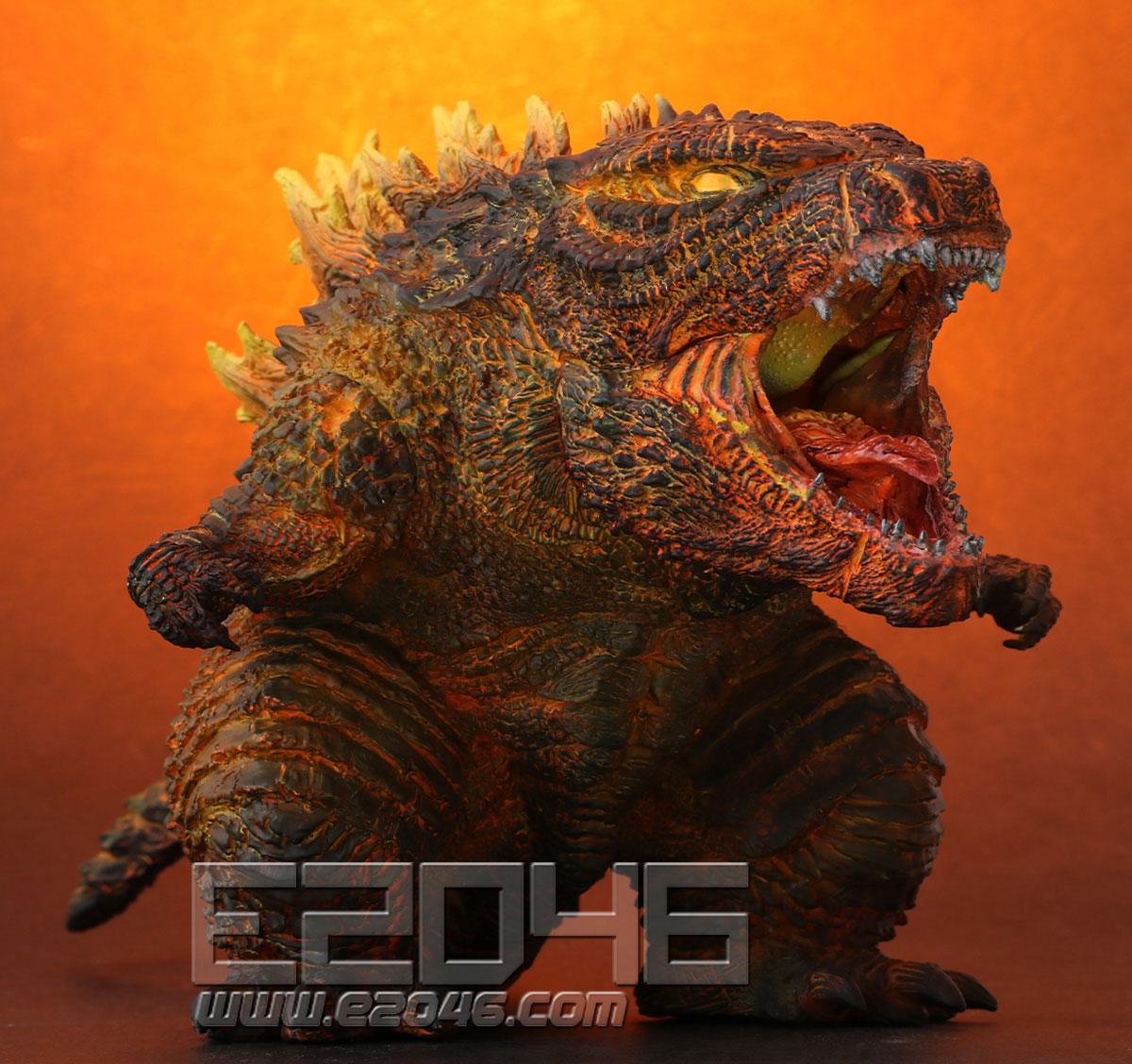 Burning Godzilla (PVC)