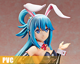 PV11346 1/4 Aqua Bare Legs Bunny Version (PVC)