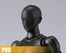 PV10589  Body-kun Solid Black Color Version (PVC)
