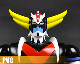 PV9803  Grendizer Character Reference Version Repainting Color (PVC)