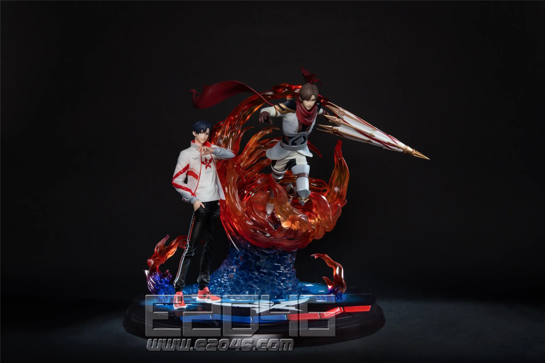 Ye Xiu & Lord Grim (PVC)