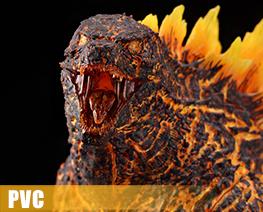 PV11263  Godzilla Burning Version (PVC)