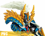 PV3537  Zinogre Series Hunter (PVC)