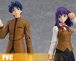 PV9404  Matou Shinji & Matou Sakura (PVC)