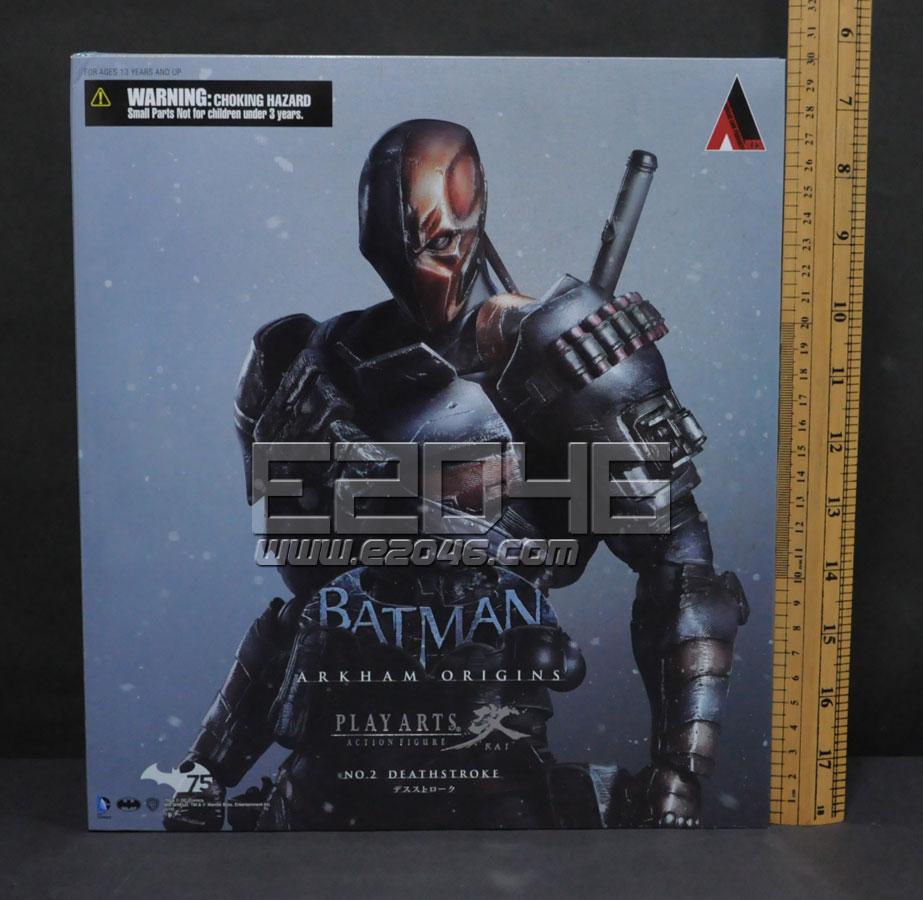 Deathstroke Arkham Origins Version (PVC)